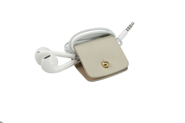 Headphone holder Angel-Whisper nappa leather made in Italy
