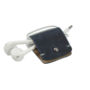 Headphone holder Artic-Nigth vintage nappa leather made in Italy