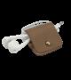 Headphone holder chestnut nappa