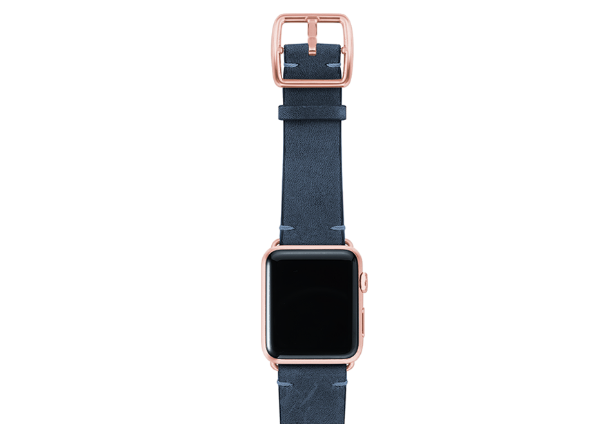 ArcticBlue-vintage-leather-band-top-rosegold