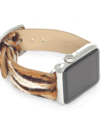 Bengal Tiger cavallino apple watch band handmade in Italy