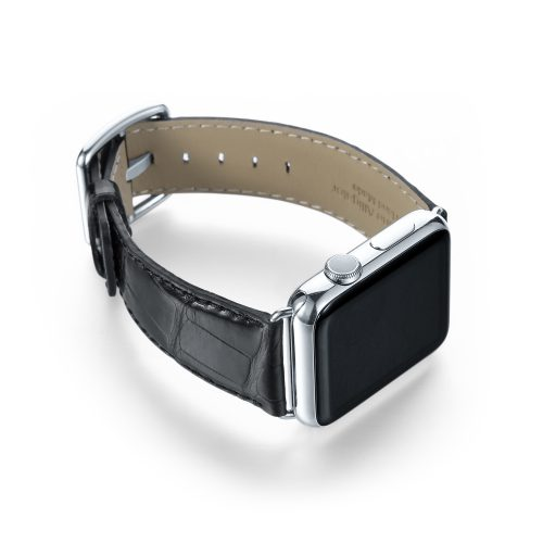 apple watch band alligator leather