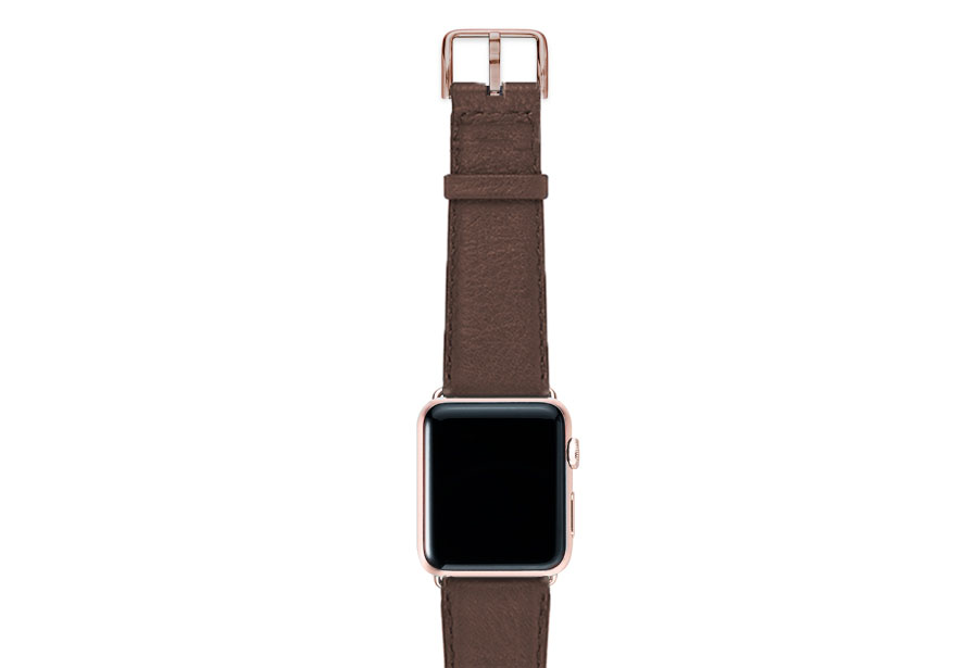 Chestnut-brown-nappa-band-on-top-with-aluminium-gold-adaptors