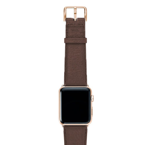Chestnut-brown-nappa-band-on-top-with-gold-series3-adaptors