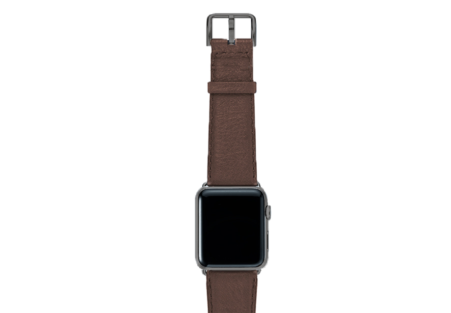 Chestnut-brown-nappa-band-on-top-with-space-grey-adaptors