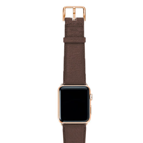 Chestnut-brown-nappa-band-on-top-with-stainless-gold-adaptors