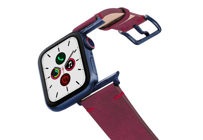 Colonial-Red-AW-vintage-band-case-on-air-with-blue-adaptors