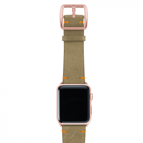 Driedherb-top-vintage-leather-band-rosegold