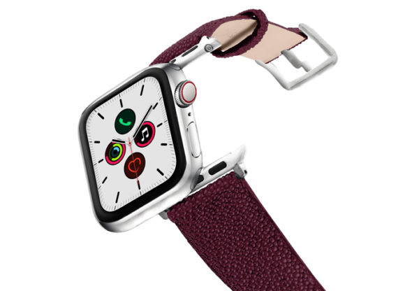 Purple-Rain-AW-stingray-leather-band-on-air-stainless-steel-case-on-air