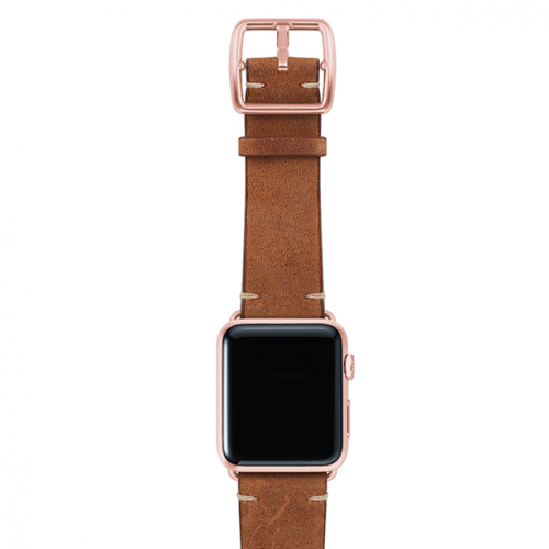 Smokedwalnut-top-vintage-leather-band-rosegold