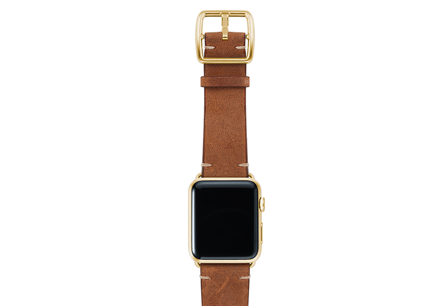 Smokedwalnut-top-vintage-leather-band-yellowgold