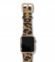 calf-hair-spotted-cheetah-Apple-watch-leather-band-yellow-gold-case