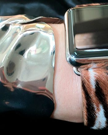 bengal-tiger-calf-hair-Apple-watch-leather-band