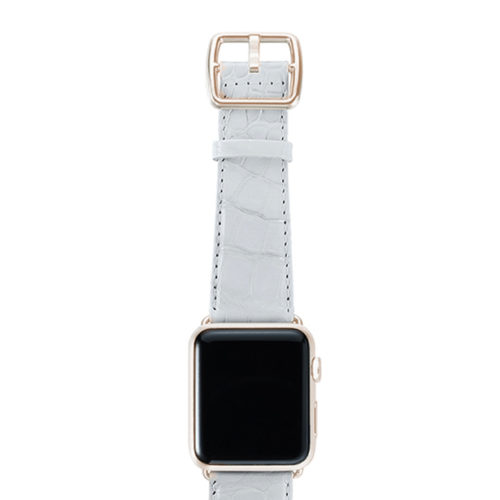 croco_white-BAND-WITH-stainless-gold-adaptors