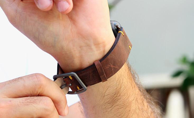 vintage-oldbrown-Apple-watch-leather-band
