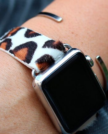 whitey-spotty-calf-hair-Apple-watch-leather-band