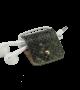 Headphone  holder Jungle-Leaf-Down phyton