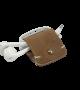 Headphone holder Smoked-Walnut vintage