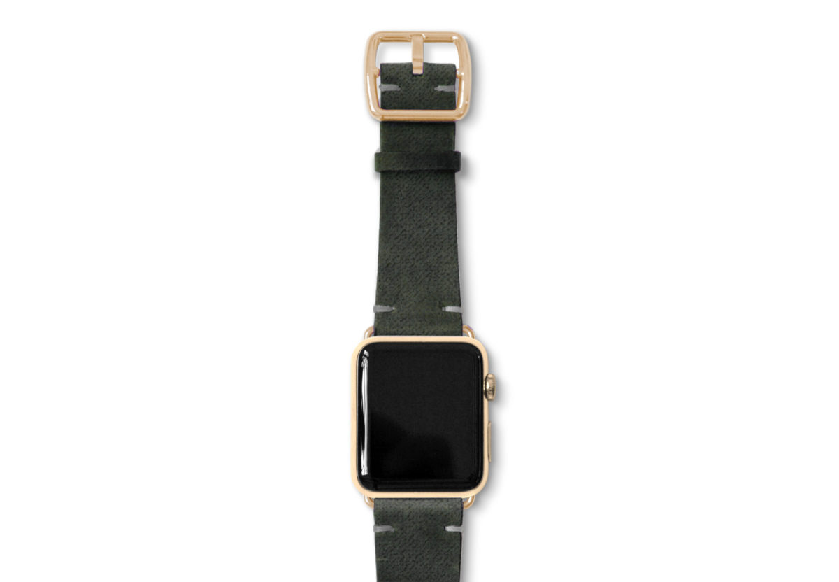 Touchstone-Vintage-Apple-watch-band-Gold-series-3-case