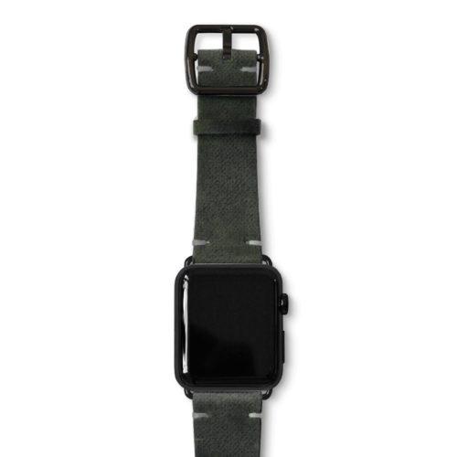 Touchstone-Vintage-Apple-watch-band-black-case