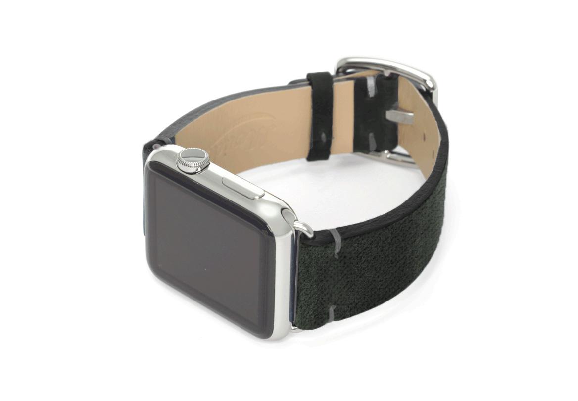 Touchstone-Vintage-Apple-watch-band-left-case