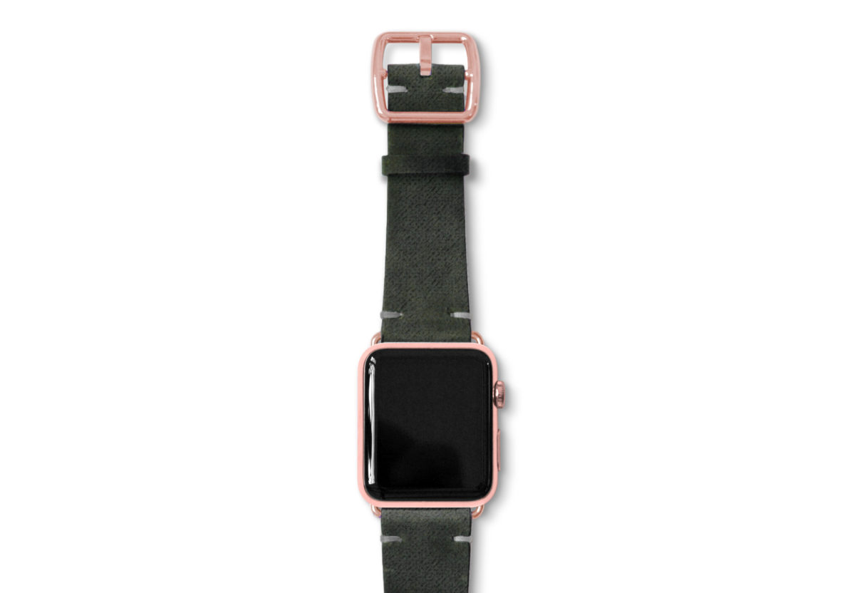 Touchstone-Vintage-Apple-watch-band-rose-gold-case
