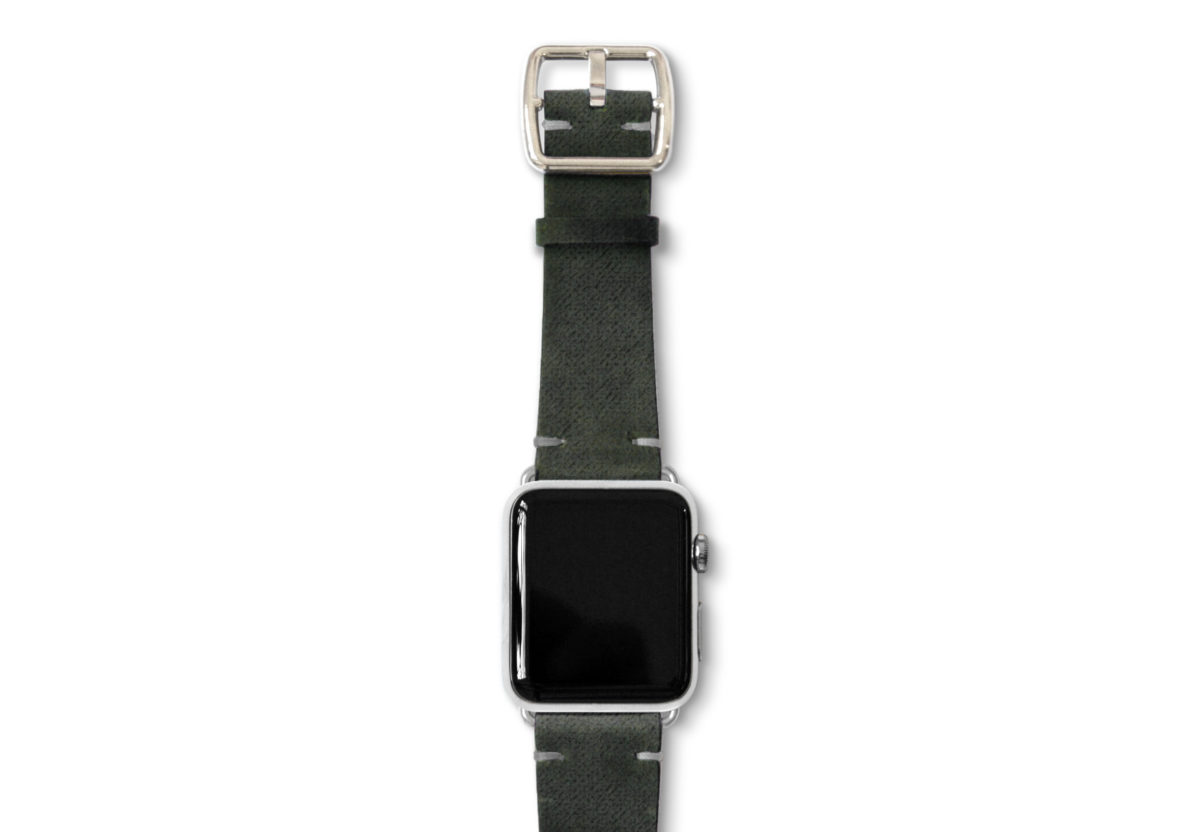 Touchstone-Vintage-Apple-watch-band-stainless-case