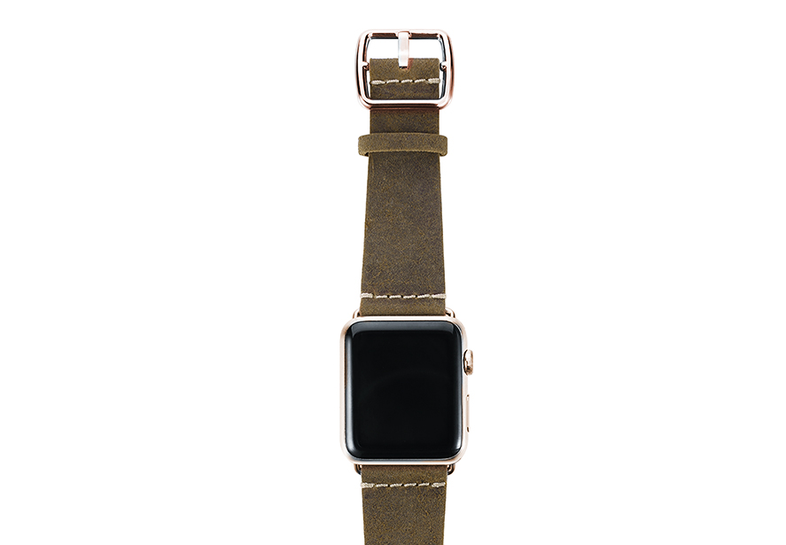 heritage_Khaki-Sun-green-band-with-stainless-gold-adaptors
