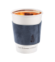 Blue coffee cup holder