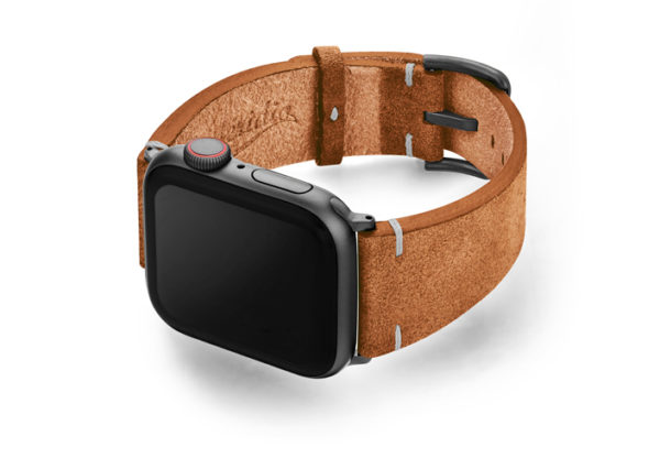 Reindeer-AW-brown-suede-leather-band-with-case-on-left