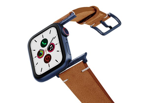 Reindeer-AW-suede-leather-band-with-blue-adapters