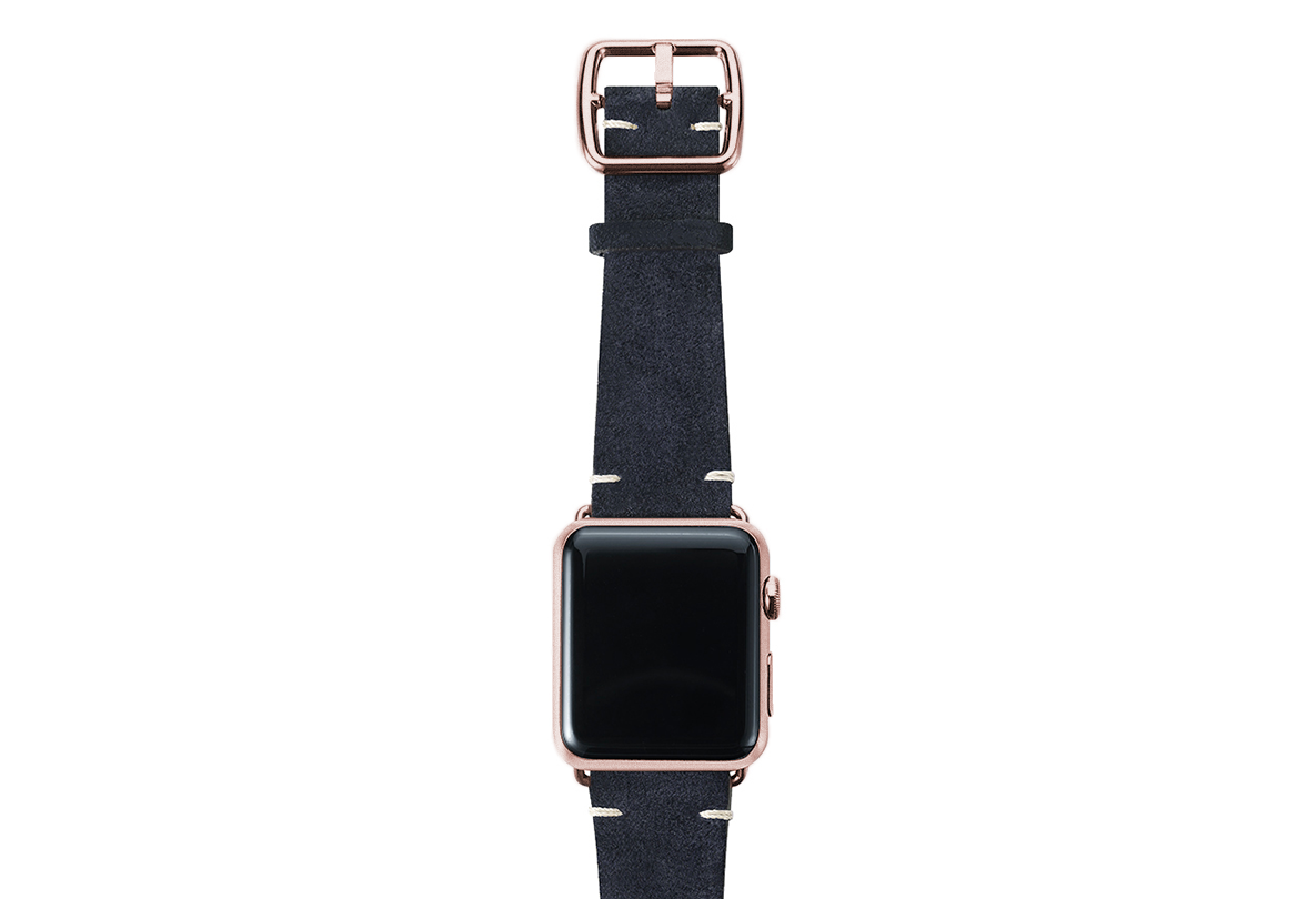 BLUE-suede-Apple-watch-band-top