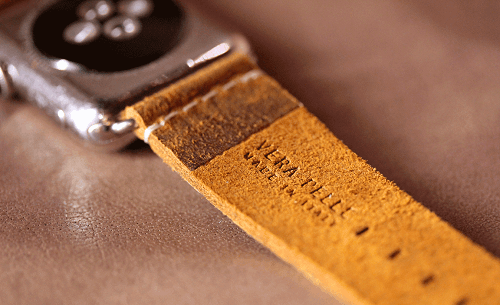 How to clean leather Apple Watch Straps | Meridio Band