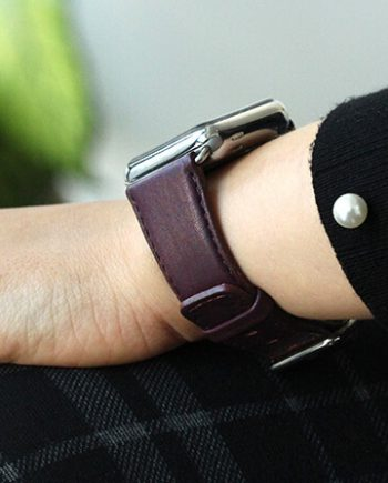 BURGUNDY-nappa-leather-apple-watch-band-woman
