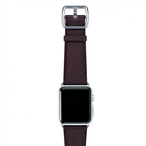 Burgundy-prugna-nappa-applewatchleatherband-stainlesscase