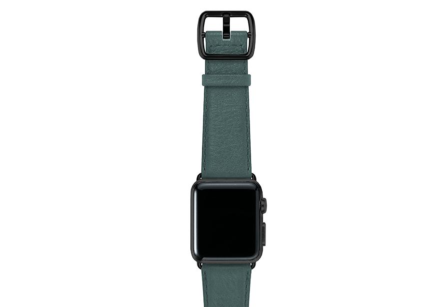Denim-blue-nappa-applewatchleatherband-blackcase