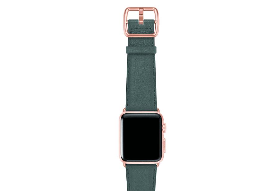 Denim-blue-nappa-applewatchleatherband-rosegoldcase