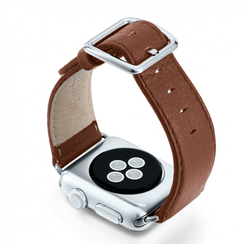 GoldenStone-marronechiaro-nappa-applewatchleatherband-backcase