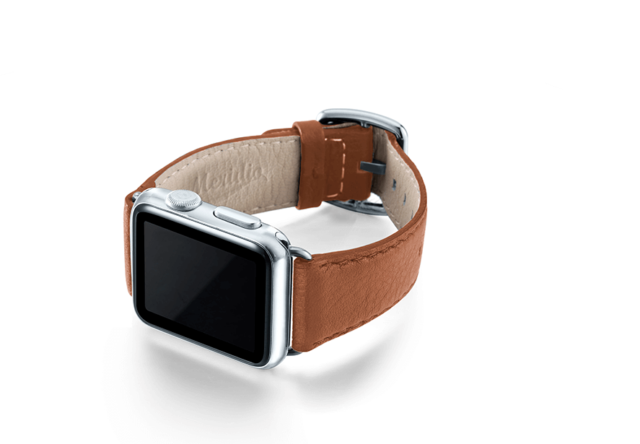 GoldenStone-marronechiaro-nappa-applewatchleatherband-leftcase