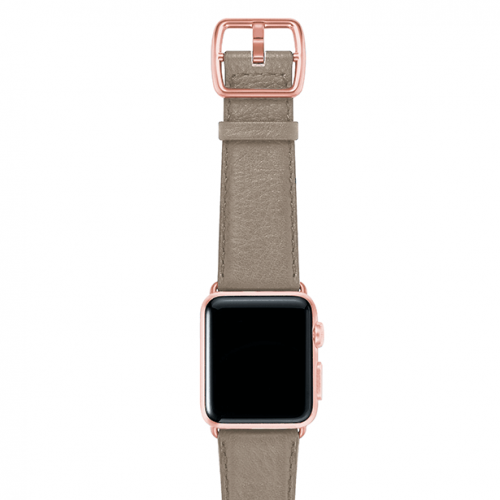Pottery-tortora-nappa-applewatchleatherband-rosegoldcase