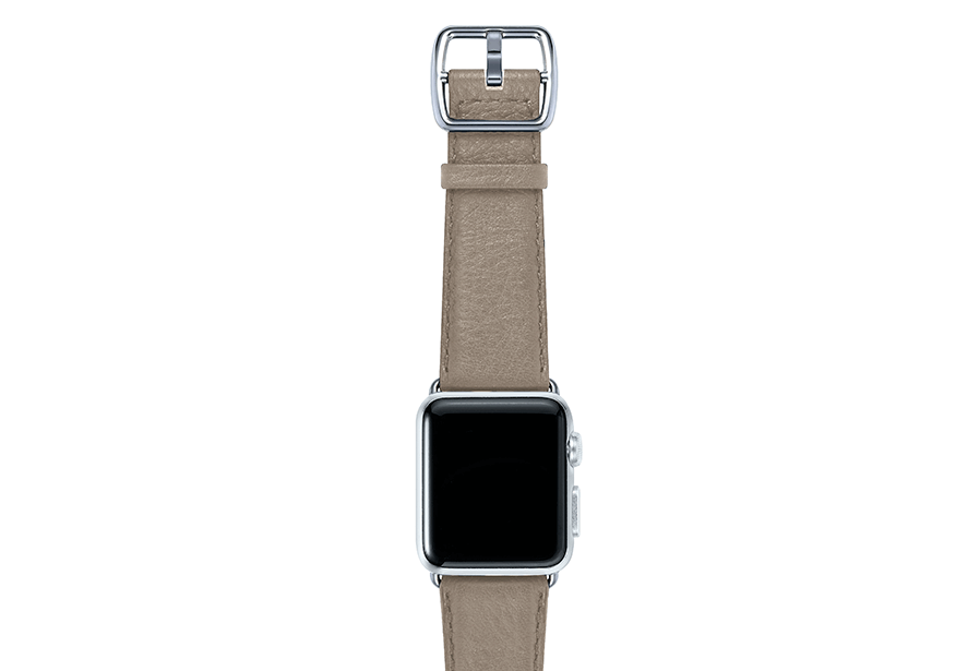 Pottery-tortora-nappa-applewatchleatherband-stainlesscase