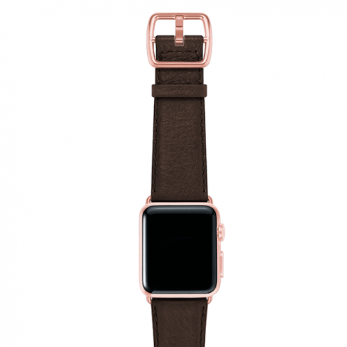 SlateBrown-testadimoro-nappa-applewatchleatherband-rosegoldcase