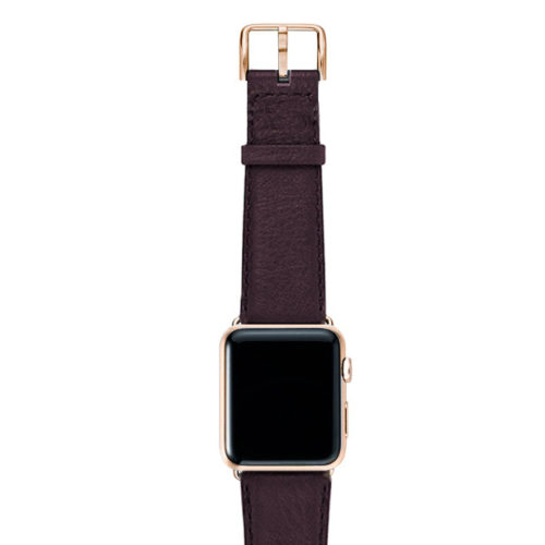 Burgundy-nappa-band-on-top-with-gold-series3-adaptors
