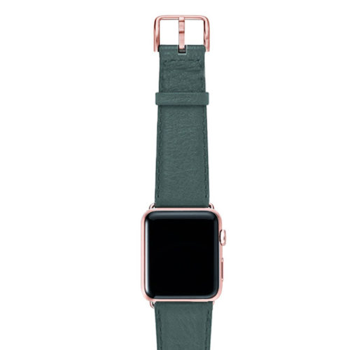 Denim-nappa-band-on-top-with-rose-gold-adaptors