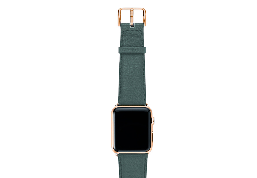 Denim-nappa-band-on-top-with-stainless-gold-adaptors