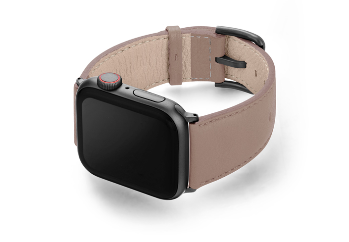 Pottery-AW-grey-nappa-leather-band-with-case-on-left