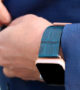Global-Waters-Apple-watch-blue-leather-band-on-his-wrist