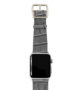 Intercostal-Apple-watch-grey-genuine-leather-band-stainless-case