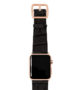 Pitch-black-Apple-watch-black-genuine-leather-band-gold-series-3-case