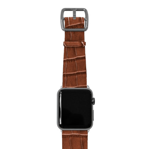 Sweetwood-Apple-watch-light-brown-genuine-leather-space-grey-case
